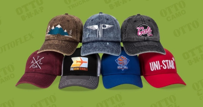 Quest Custom Embroidery works with Otto Caps for your embroidered hat needs. 8b7f9427c3b